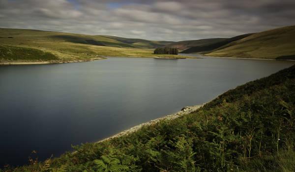 Moorland Photograph - Craig Goch Reservoir Elan Valley by Nigel Jones
