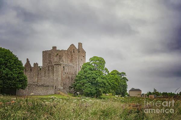 Wall Art - Photograph - Craigmillar Castle In Edinburgh by Antony McAulay