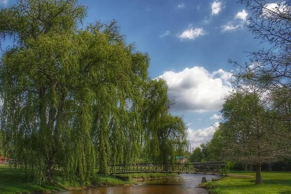 Photograph - 3004 - Crampton Park Bridge In Lapeer IIi by Sheryl Sutter