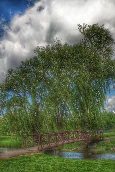 Photograph - 3008 - Crampton Park Bridge In Lapeer I by Sheryl Sutter