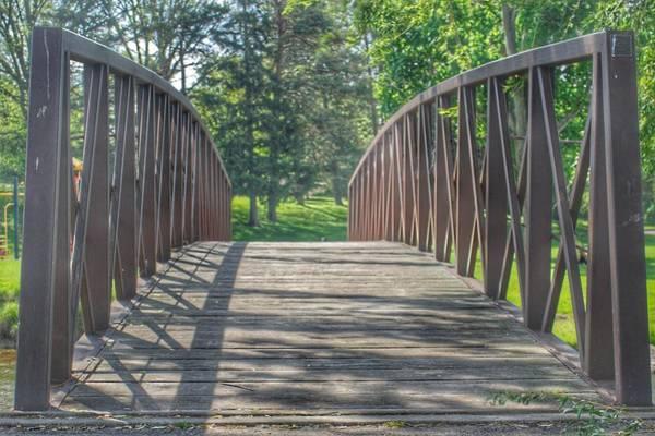 Photograph - 3011 - Crampton Park Kiwanis Bridge by Sheryl Sutter