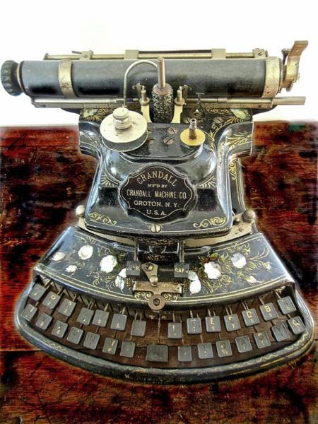 Crandall Type Writer 1893 Art Print