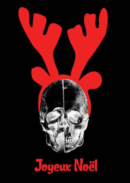 Xmas Digital Art - Crane Comme Rudolphe Noel by Maggie Terlecki