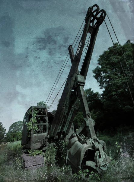 Steel Construction Wall Art - Photograph - Crane by Jerry LoFaro