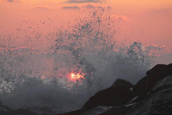 Photograph - Crash And Splash by Robert Banach
