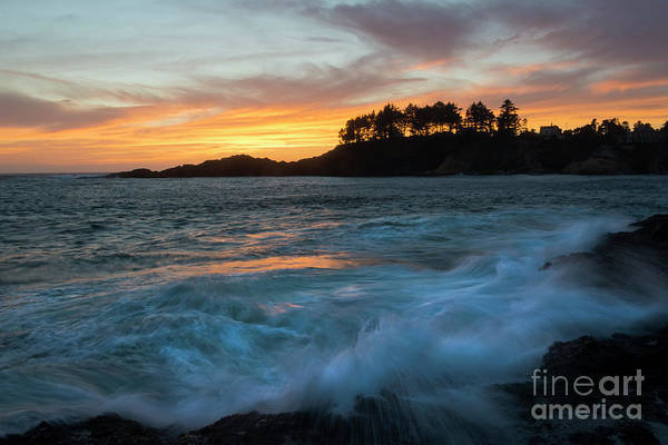 Wall Art - Photograph - Crashing Ashore by Mike Dawson