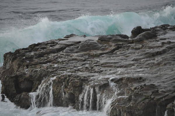 Photograph - Crashing Wave by Bridgette Gomes