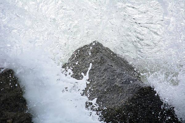 Saint Augustine Beach Wall Art - Photograph - Crashing Wave by Kenneth Albin