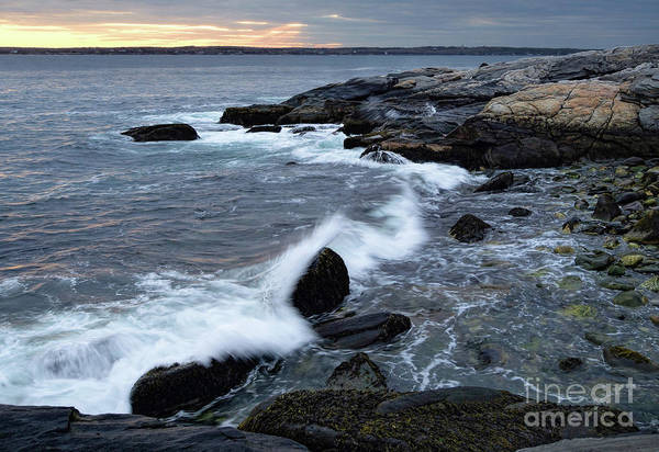 Photograph - Crashing Wave, Pemaquid Point, Bristol, Me  -60164-60166 by John Bald