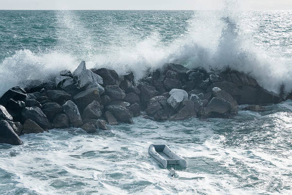 Wall Art - Photograph - Crashing Waves by Joan Carroll