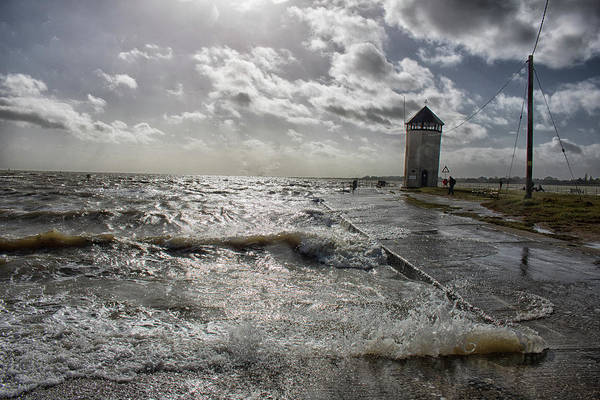 Essex Photograph - Crashing Waves by Martin Newman