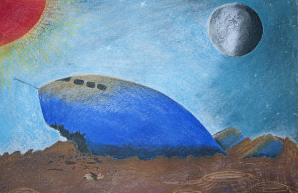Pastel - Crashlanding by M Valeriano