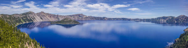 Photograph - Crater Lake by Albert Seger
