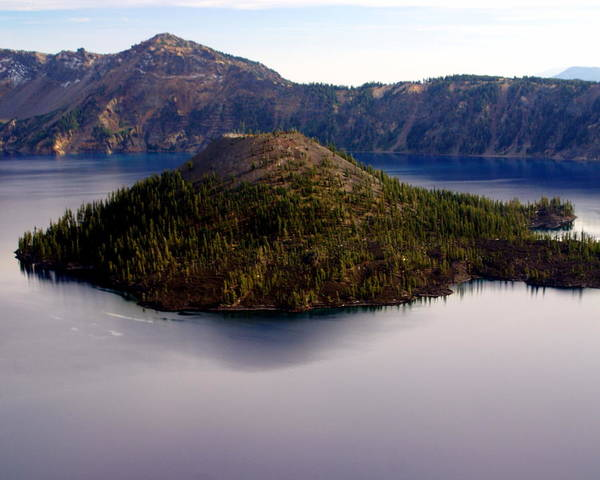 Photograph - Crater Lake 1 by Marty Koch