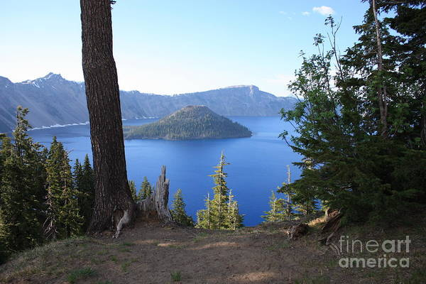 Photograph - Crater Lake 11 by Carol Groenen