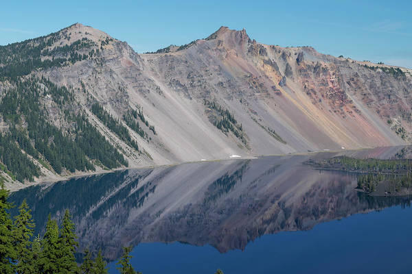 Photograph - Crater Lake 2 by Frank Wilson