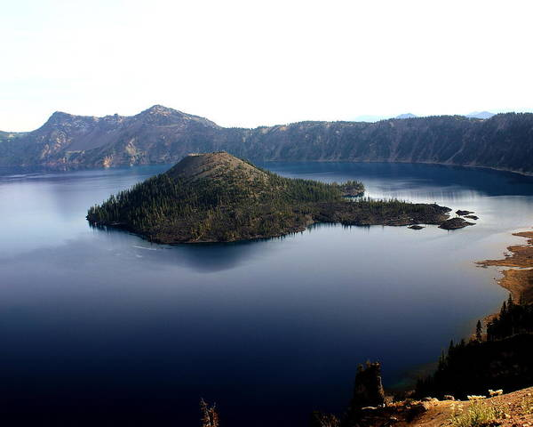 Photograph - Crater Lake 2 by Marty Koch