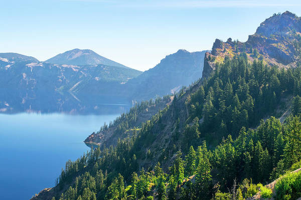 Photograph - Crater Lake 4 by Frank Wilson
