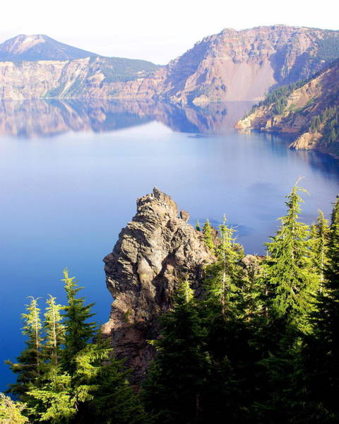 Photograph - Crater Lake 4 by Marty Koch