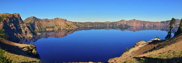 Photograph - Crater Lake Blue Mirror by Greg Norrell