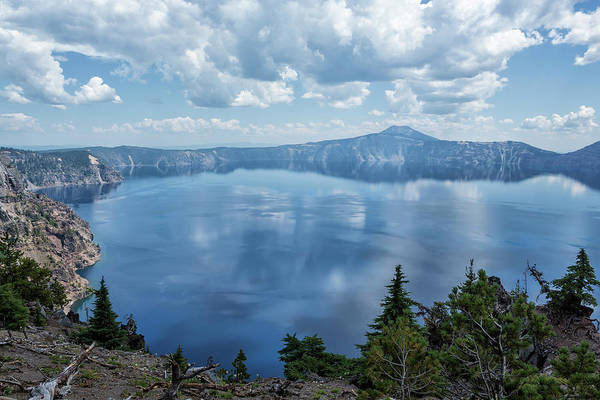 Photograph - Crater Lake From The North Rim, No. 1 by Belinda Greb