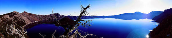 Digital Art - Crater Lake by Kenneth Armand Johnson