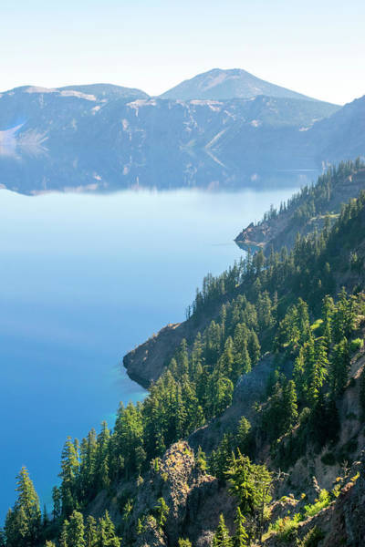 Photograph - Crater Lake Rim by Frank Wilson