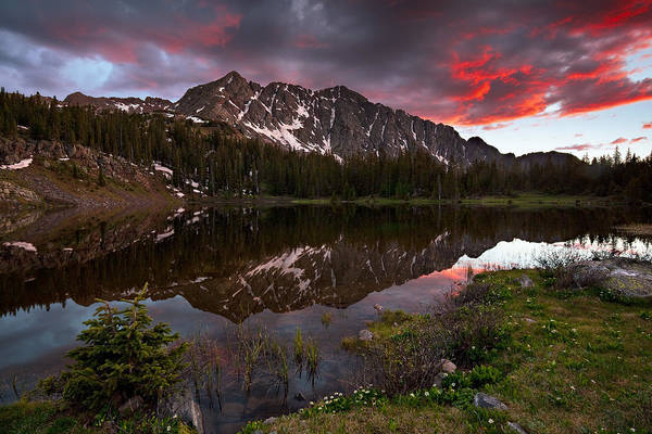 Wall Art - Photograph - Crater Lake Sunset by Guy Schmickle