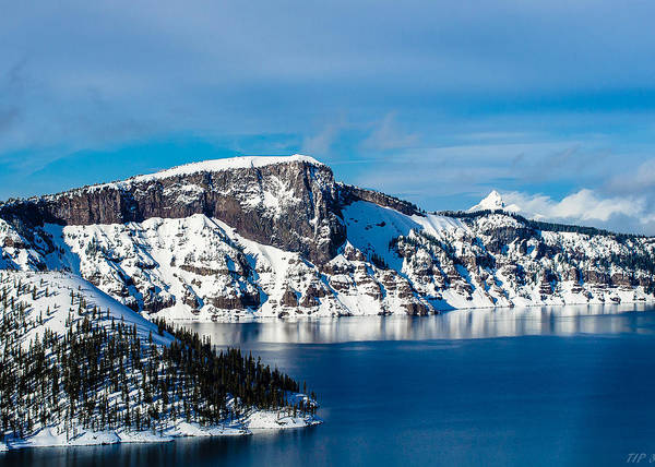 Photograph - Crater Lake by Tom Potter