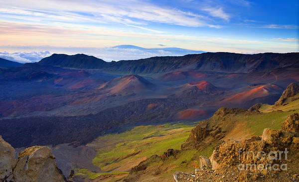 Haleakala Crater Photograph - Craters Of Paradise by Mike  Dawson