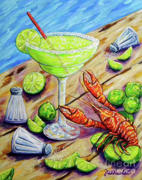 Wall Art - Painting - Craw-rita by JoAnn Wheeler