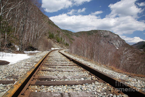Photograph - Crawford Notch State Park - Maine Central Railroad by Erin Paul Donovan