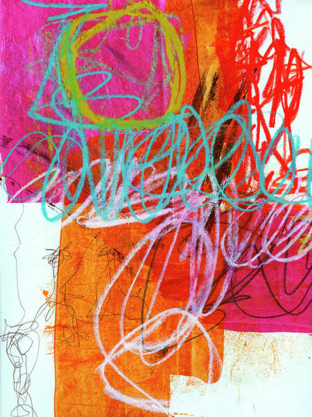 Scribble Painting - Crayon Scribble #7 by Jane Davies