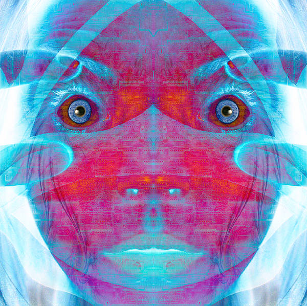 Fate Digital Art - Crazy Circuits by Bear Welch