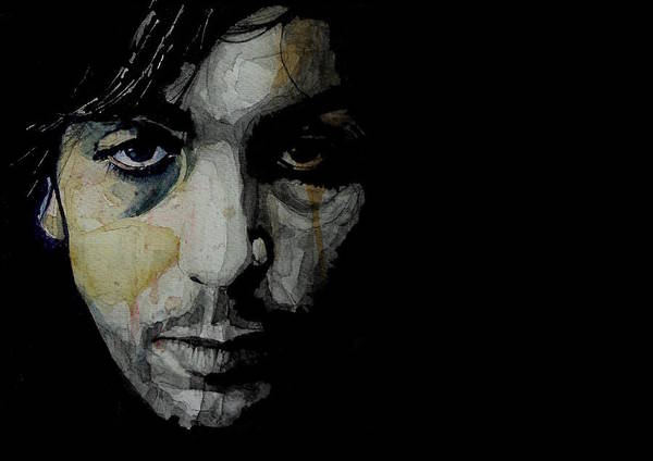 Pink Floyd Painting - Crazy Diamond - Syd Barrett  by Paul Lovering