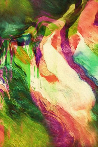 Wild Life Mixed Media - Crazy Modern Wild Life Abstract by Isabella Howard
