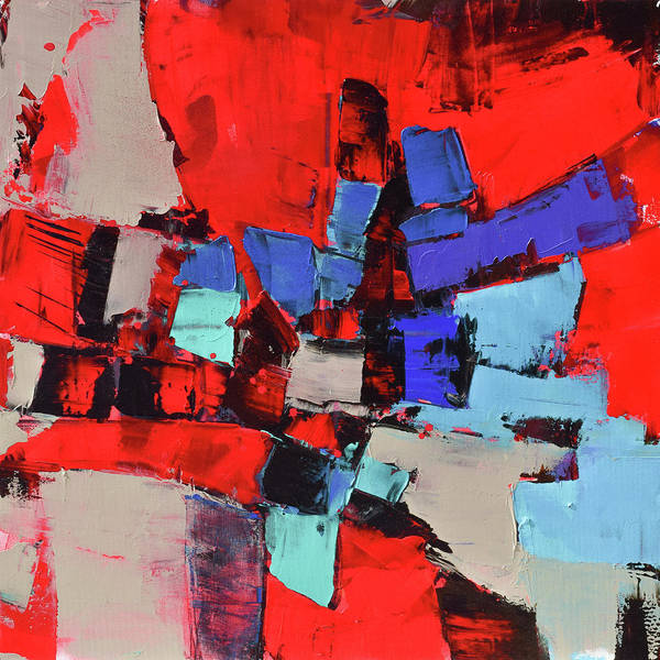 Painting - Crazy Red by Elise Palmigiani