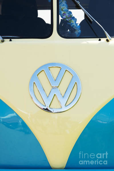 Motorhome Wall Art - Photograph - Cream And Blue  by Tim Gainey