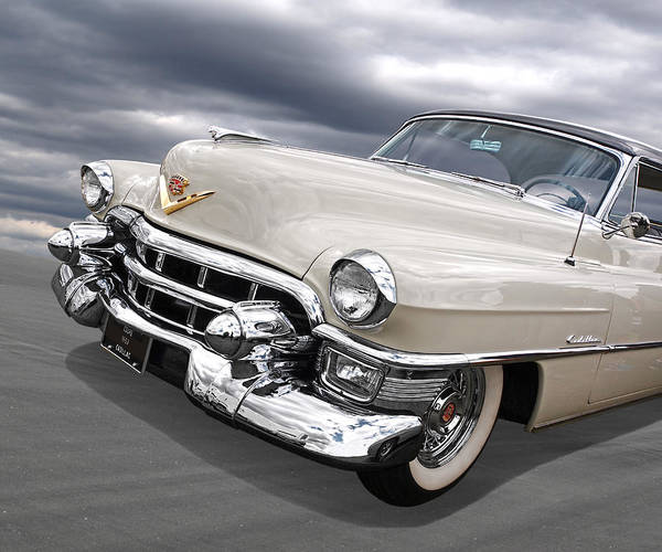 Wall Art - Photograph - Cream Of The Crop - '53 Cadillac by Gill Billington