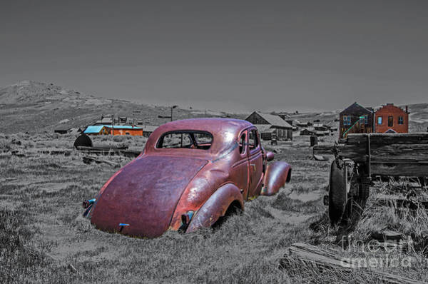 Bodie Ghost Town Wall Art - Photograph - Cream Puff by Stephen Whalen