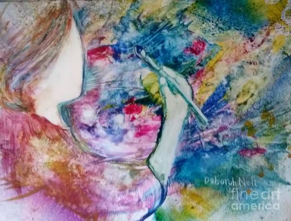 Painting - Created To Create by Deborah Nell