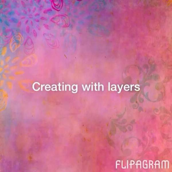 Creating With Layers On #ipad ..this Is Art Print