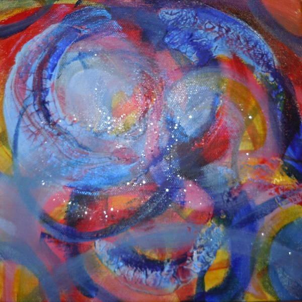 Painting - Creation 2010 by Deborah Brown Maher