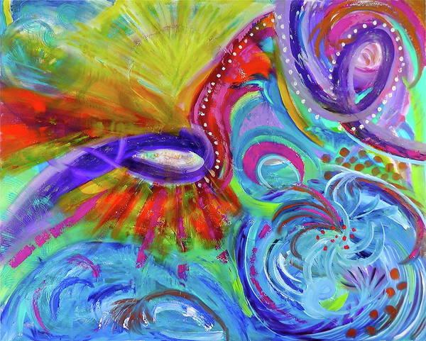 Painting - Creation by Deborah Brown Maher