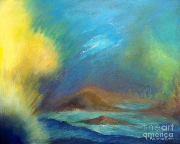 Scriptural Painting - Creation by Deborah Smith