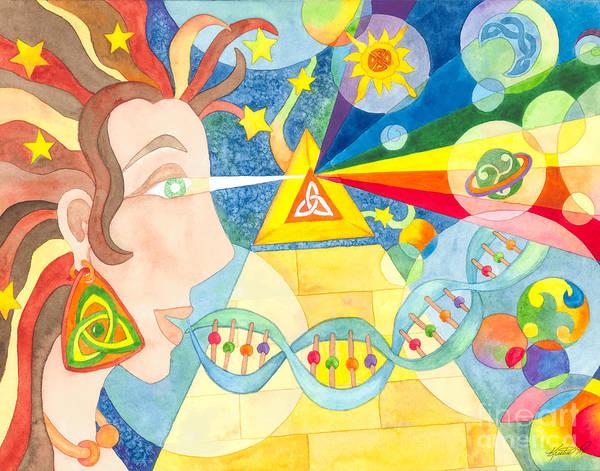 Painting - Creation Myth by Kristen Fox
