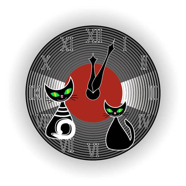 Digital Art - Creative Wall Clock by Marina Usmanskaya