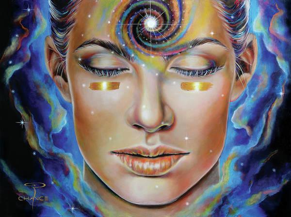 Genie Painting - Creatrix by Robyn Chance
