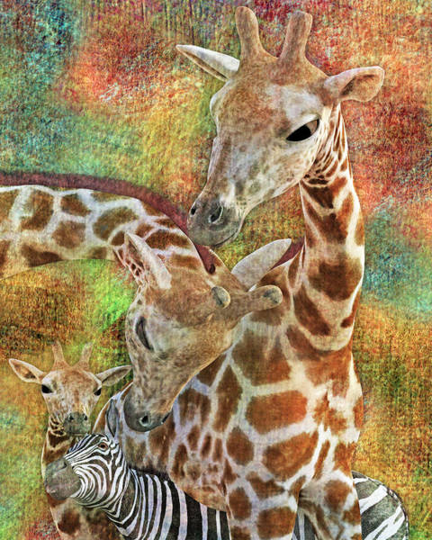 Wall Art - Digital Art - Creatures Great And Small by Betsy Knapp