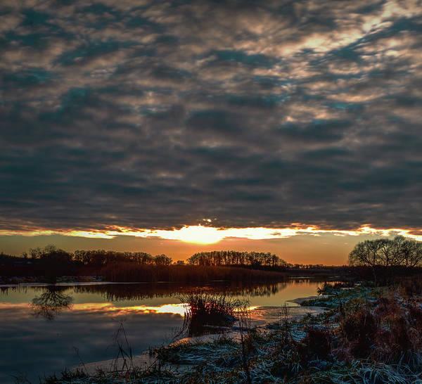Photograph - Creek Light #h0 by Leif Sohlman